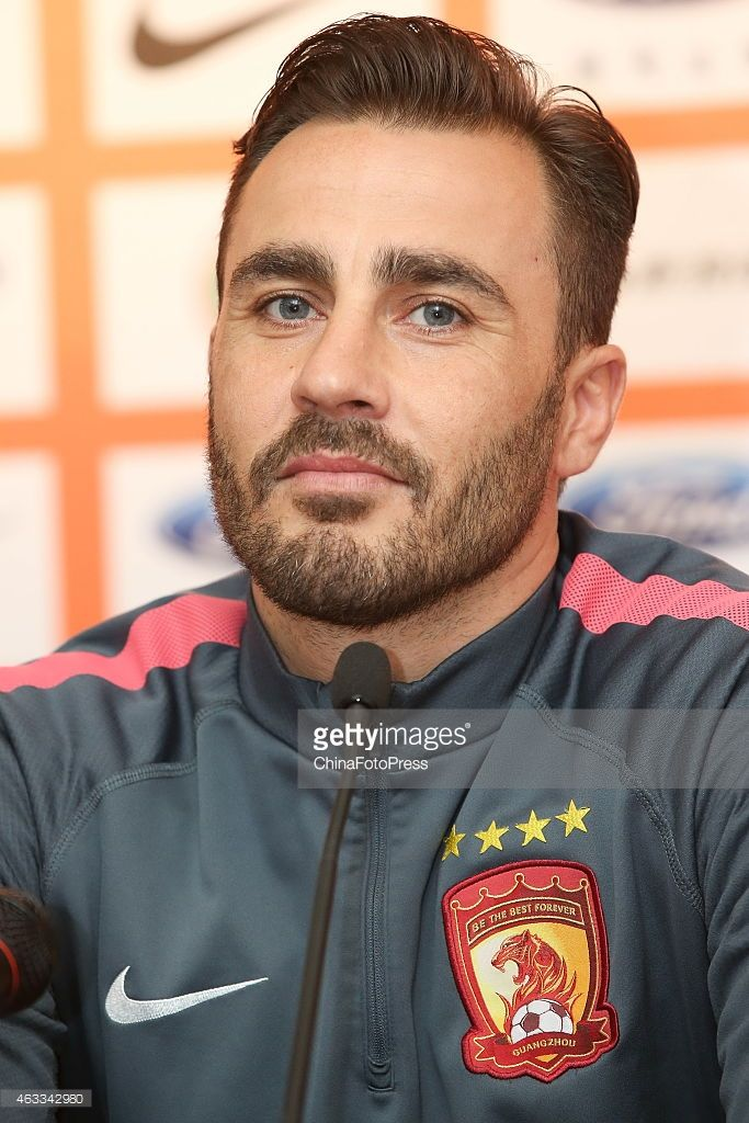 Fabio Cannavaro Men Pinterest Handsome Soccer Boys