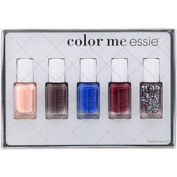 Essie Holiday Mini Nail Color Kit Polish In General I Love All Colors