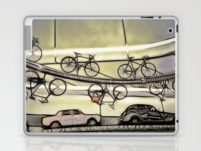 The Alternative Route Laptop & iPad Skin by F Photography and Digital Art - $25.00