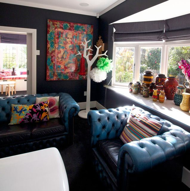 Best 25 Leather Sofas Ideas On Pinterest: Best 25+ Blue Leather Couch Ideas On Pinterest