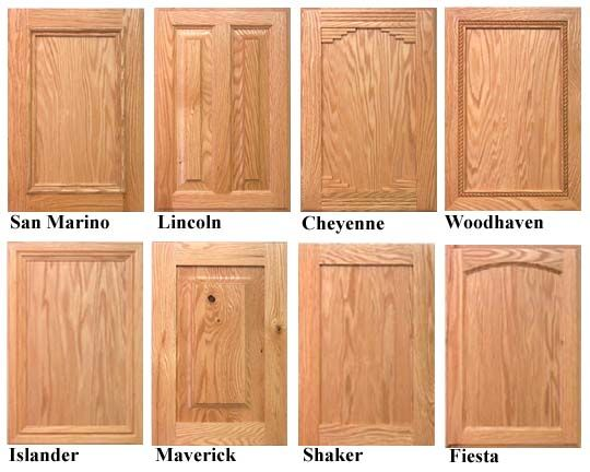 How a homeowner can finish Red Oak Cabinet Doors