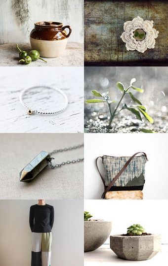 Rustic Greens by Karen on Etsy--Pinned with TreasuryPin.com