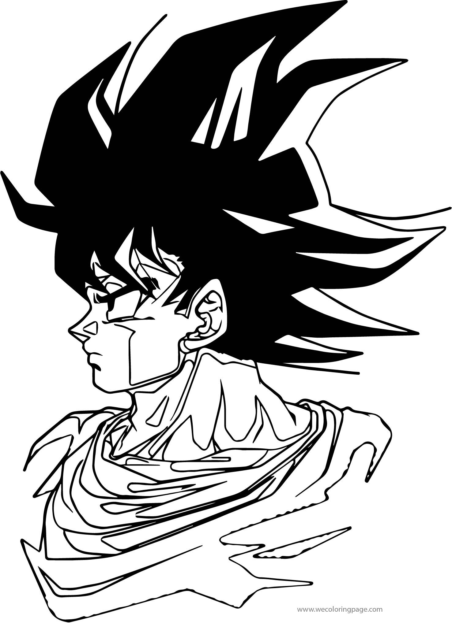 Pin By Wecoloringpage Coloring Pages On Wecoloringpage Coloring Pages For Boys Coloring Pages Goku