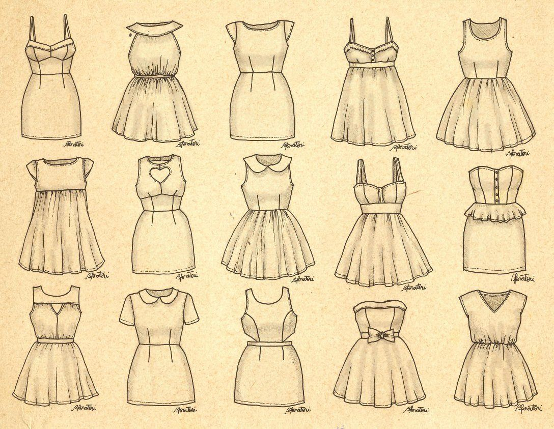 Cute Dresses 3 With Images Dress Drawing Easy Dress Drawing