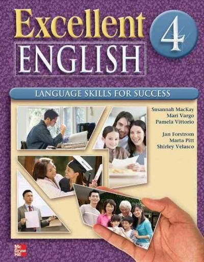 Excellent English Student Book 4 Reprint: Language Skills for Success