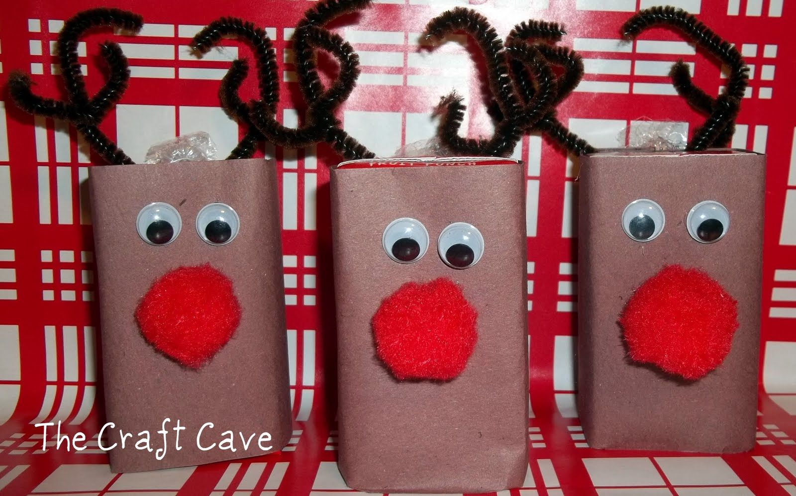 Thecraftcave Juice Box Crafts Christmas Ideas Gifts Kids Christmas Party