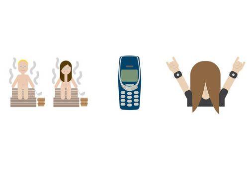 Myös Suomen valtiolla on omat emojinsa. Ulkoministeriö esitteli ne marraskuun alussa. Emojilla tarkoitetaan pientä kuvaa, jota voi käyttää sähköisissä viesteissä kuvaamaan esimerkiksi tunteita tai tapahtumia.