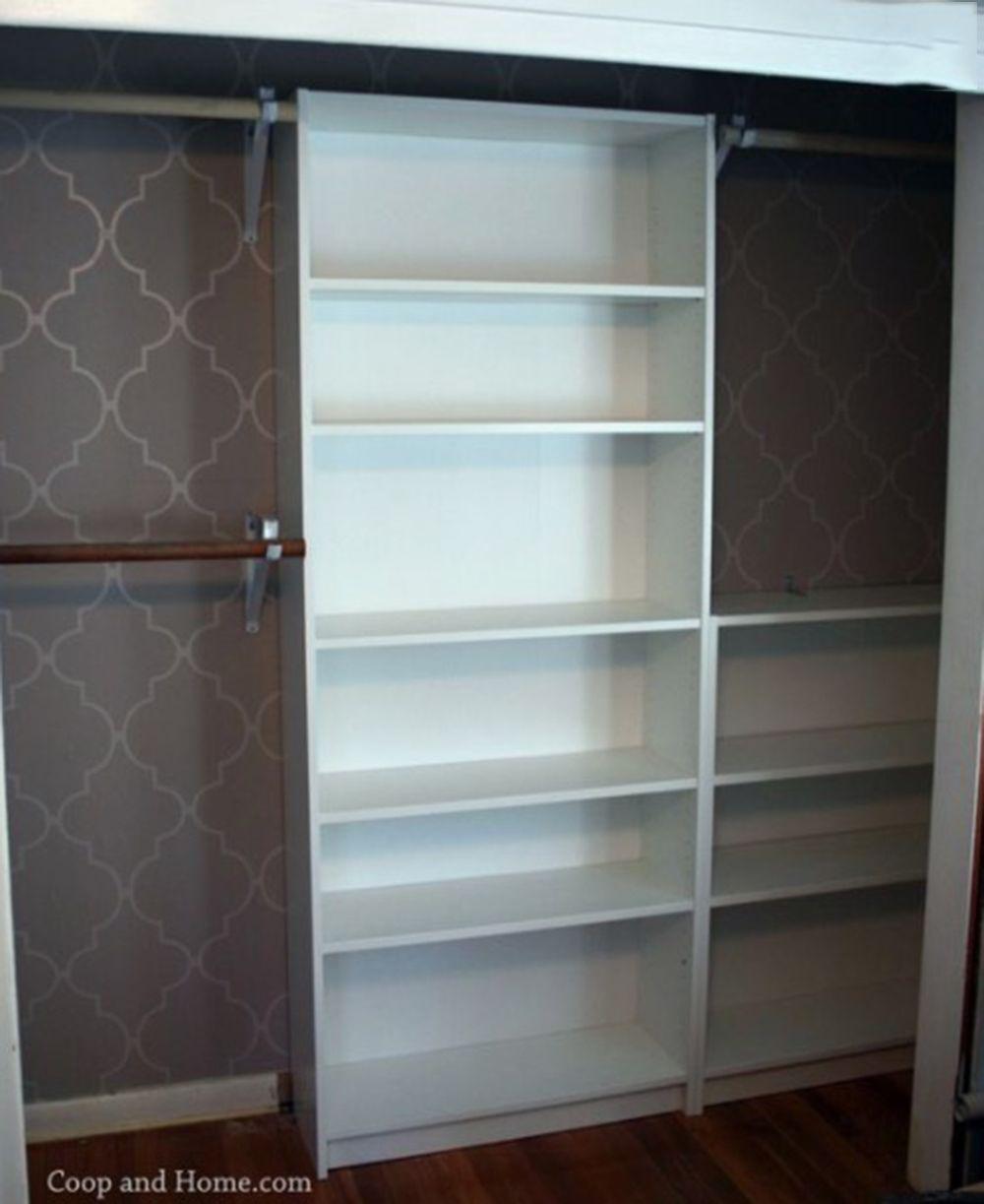 12 genius hacks to transform your IKEA BILLY bookcase | Ikea billy ...
