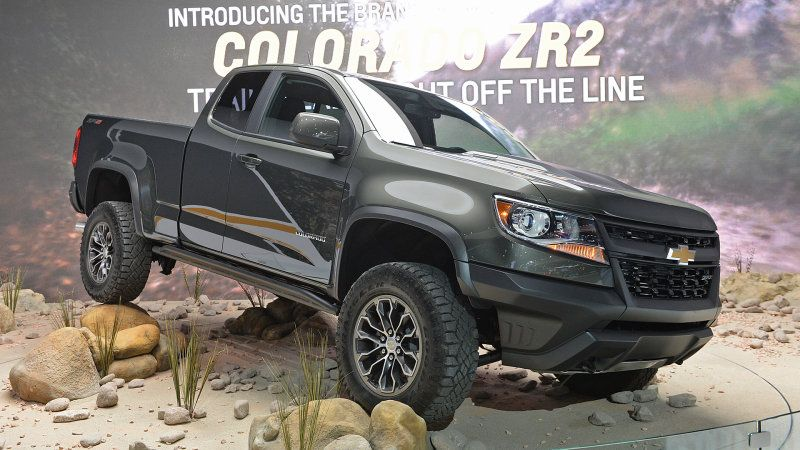 Your badass off road sel Chevy Colorado ZR2 is here