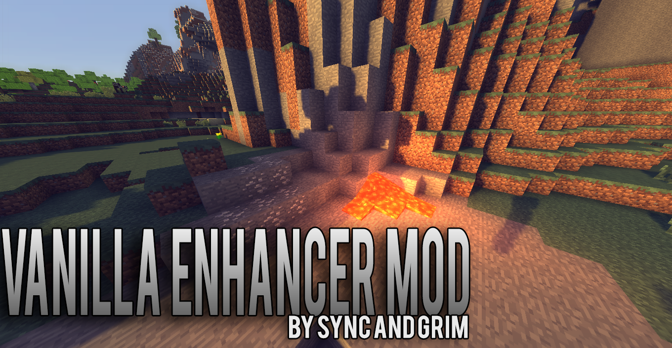 The Vanilla Enhancer Mod Minecraft Mods Pinterest Mod Mod - Minecraft server erstellen kostenlos ohne download