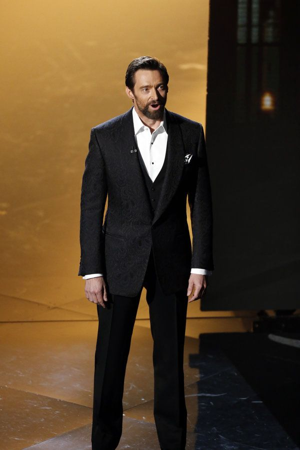 Hugh Jackman joined his LES MISERABLES cast members in a celebration of Oscar Musicals