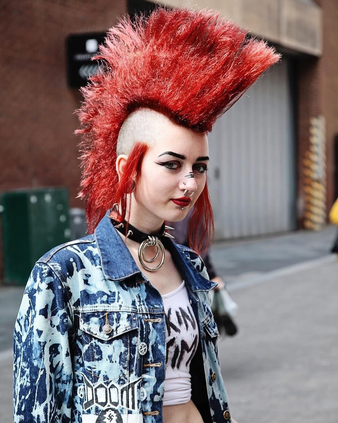 punk rock girl | punk in 2019 | punk rock girls, punk mohawk