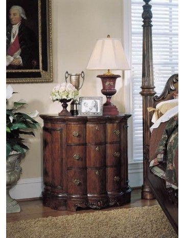 Best Pulaski Edwardian Demilune Chest 242142 Dressers Chests 400 x 300