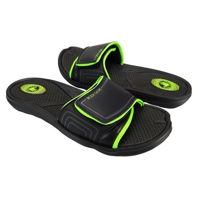 5a627ebd228a70 Men s Body Glove Dune Flip Flop Sandals - Black Yellow 11