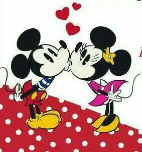 Disney Mickey Walt Couples Wallpaper Happy Valentines Day Characters Minnie Mouse Stencil Cartoons
