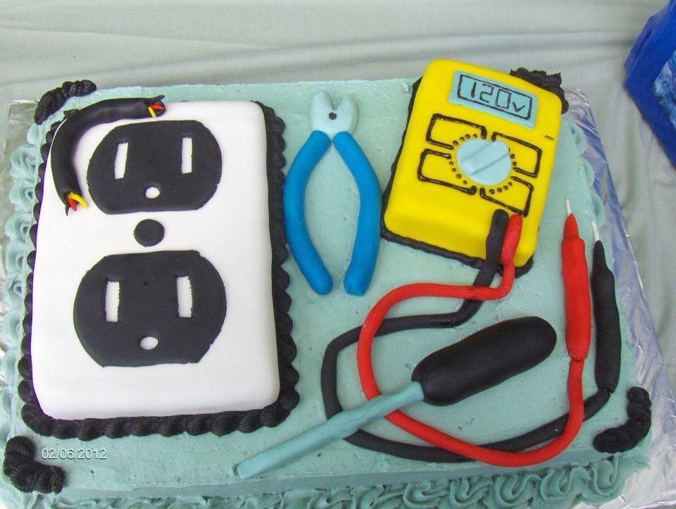 electrician cake Cakes by meeeee Pinterest Cake Cake cookies