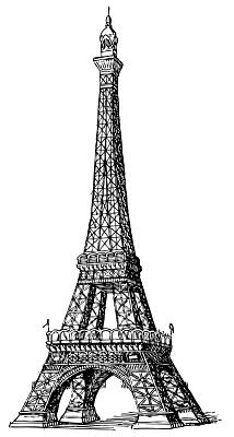 Icon Eiffel Tower Png 214 400 Torre Eiffel Desenho Transferencias De Imagem Torre Eiffel