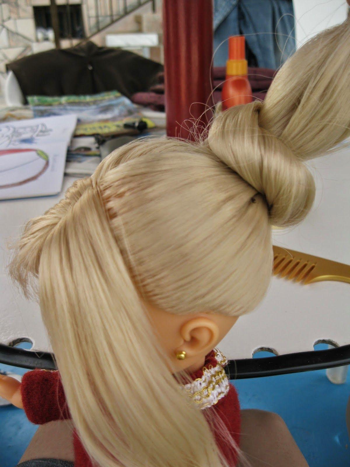 Elegante nancy peinados Imagen de cortes de pelo estilo - Descubriendo peinados   Peinados de muñecas, Pelo de ...