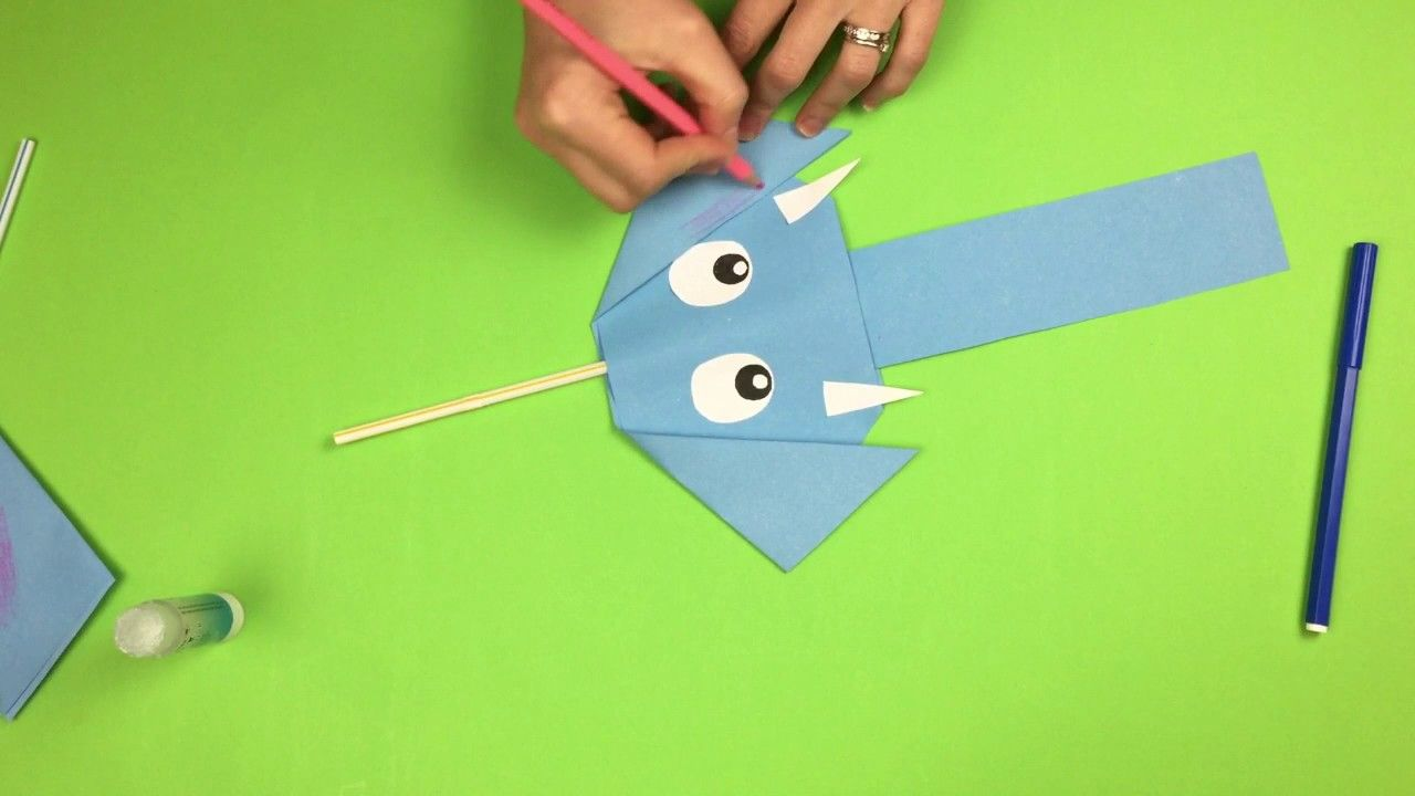 Fun Craft For Small Kids Easy To Make And No Special Materials
