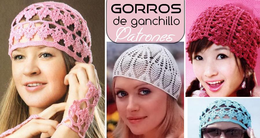 Patrones-para-tejer-gorros-a-ganchillo-1.png (900×480) | horgolás ...