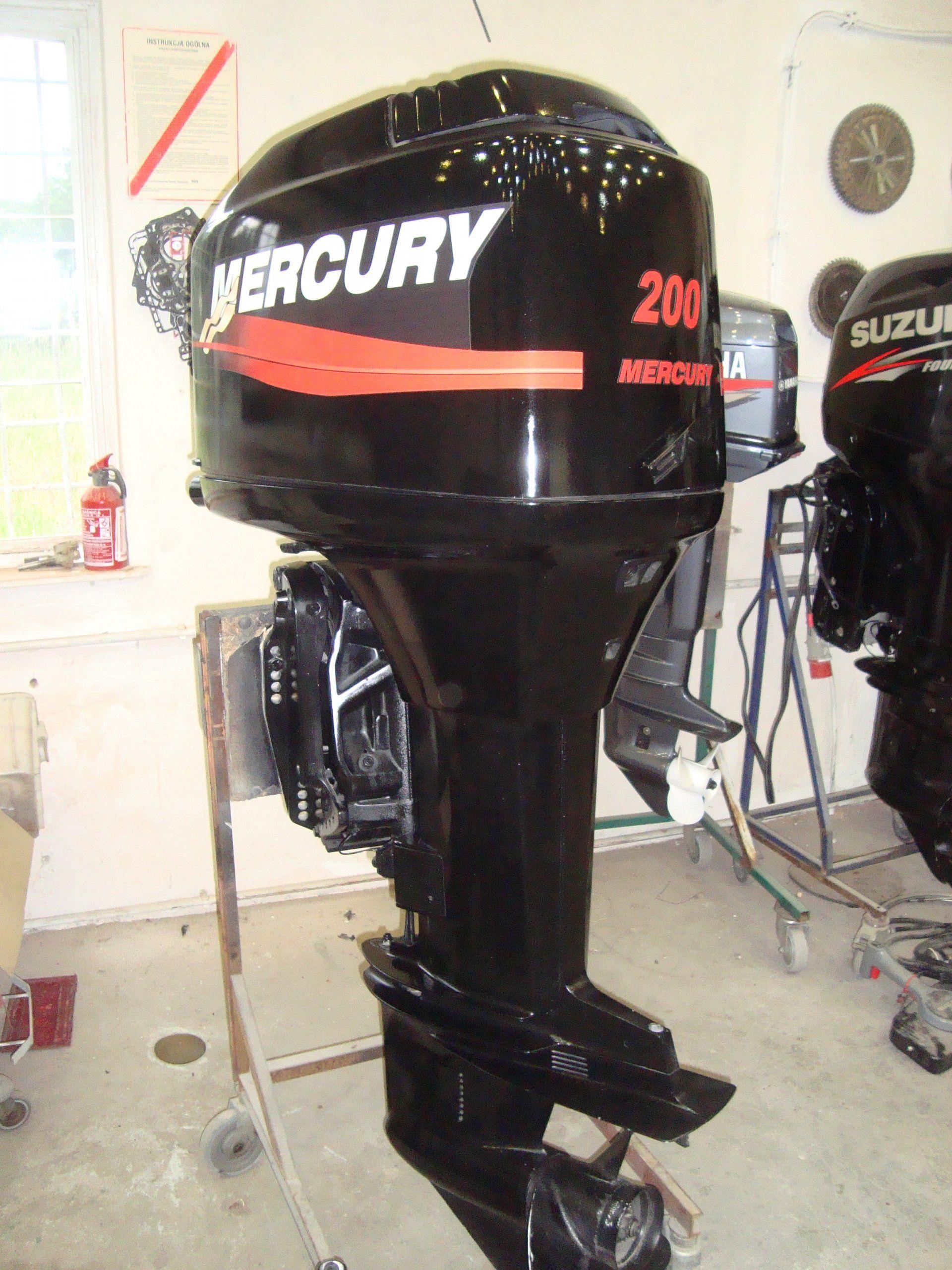 Silnik Zaburtowy Mercury 200km Okazja 6312687751 Oficjalne Archiwum Allegro Suzu Home Appliances Appliances