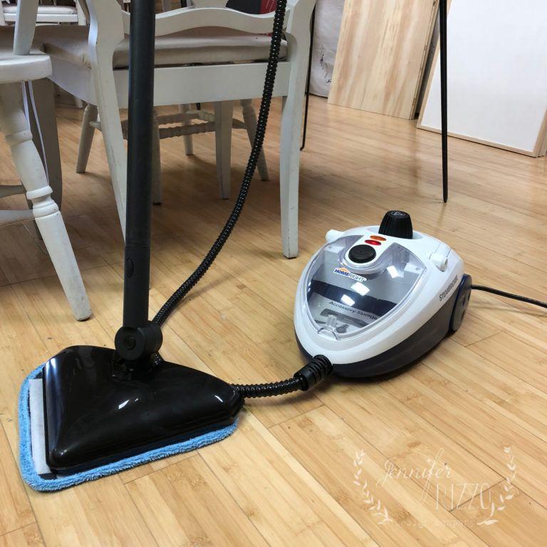 Steam Clean a Vinyl Floor Cleaning vinyl floors, Vinyl