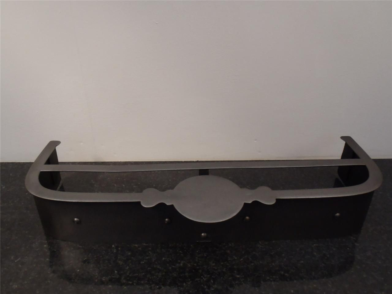 fully restored original fireplace fender for victorian cast iron