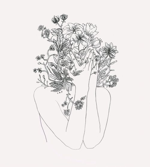 I M A Mess Tumblr Art And Flowers B W Art Drawings Artwork