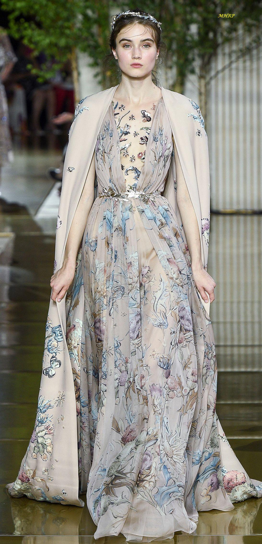 Zuhair murad fall couture одежда мода pinterest zuhair