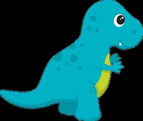 Dinossauros Minus Dinosaurussen Thema Dinosaurus