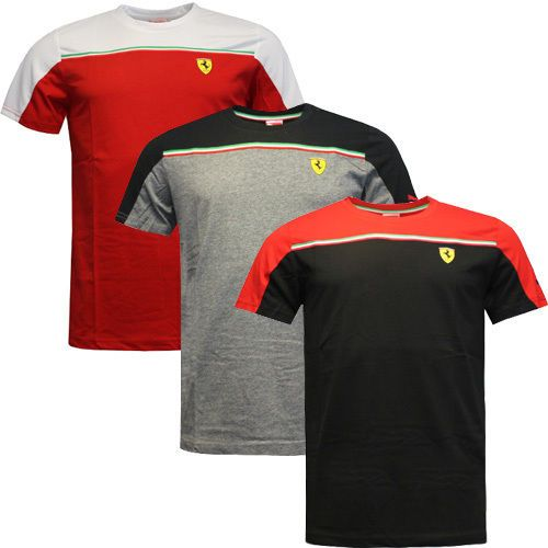 Puma SF Scuderia Ferrari Mens Short Sleeve Cotton Tee T-shirts 761631 DD | T -Shirts | Men\u0027s Clothing