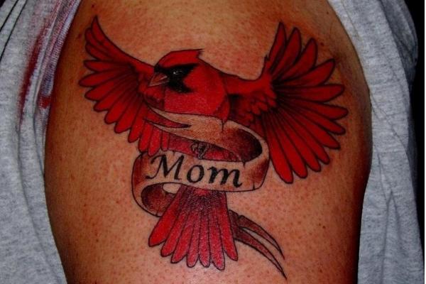 small cardinal tattoo - Google Search