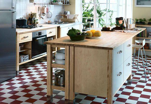 decoracion de cocinas pequeas buscar con google - Islas De Cocina Ikea