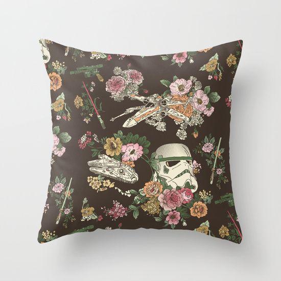 Buy Botanic Wars by Josh Ln as a high quality Throw Pillow