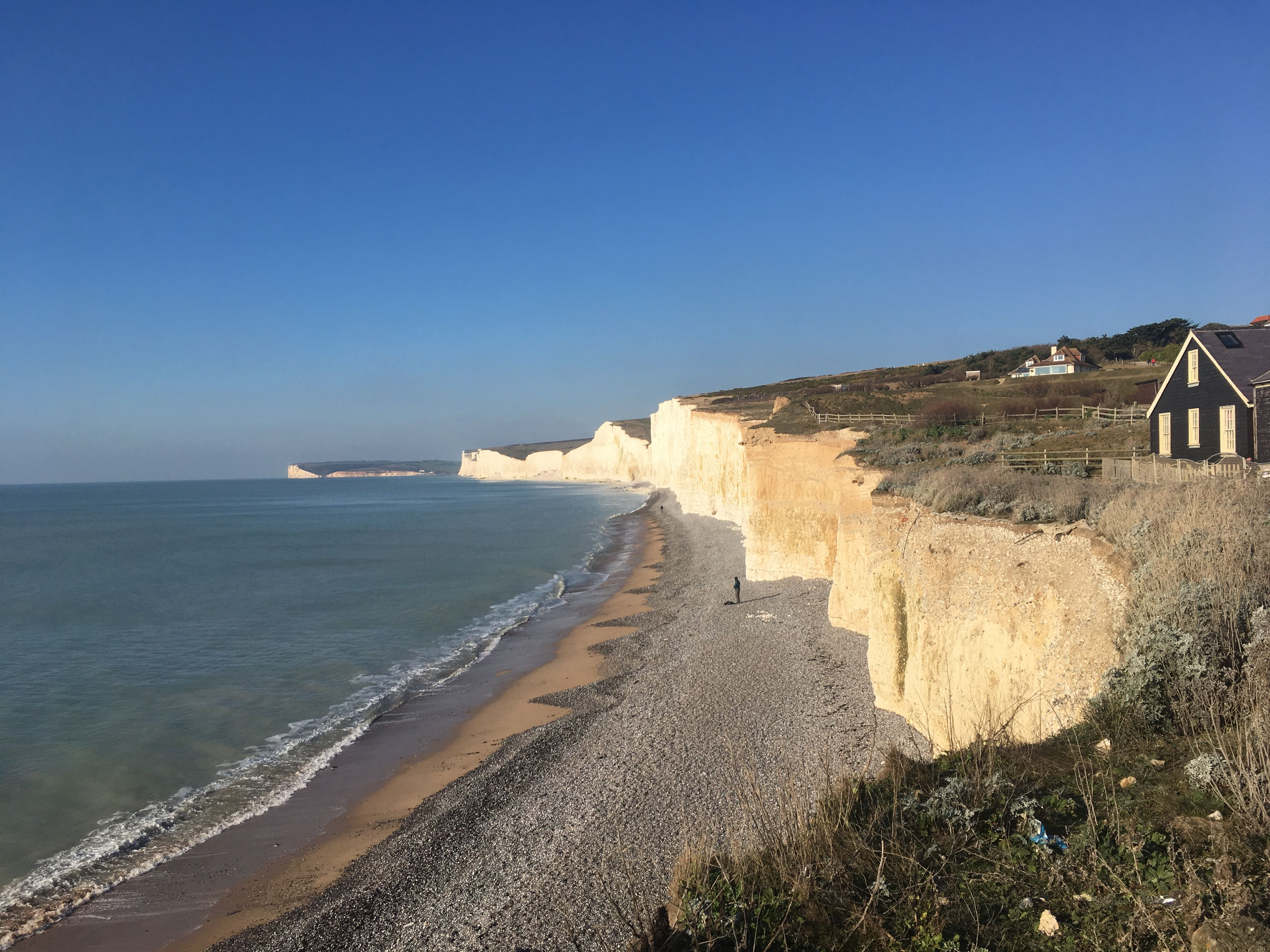 DRY JANUARY: THE TURNING POINT – Urbs and burbs   It takes three weeks to create a habit but is that really true? Plus other Dry January distractions like the beautiful cliffs on the UK south coast   #dryjan #dryjanuary #sobercurious #alcoholfree #dryjanuary2019 #ukholidays #ukcoast #coastalwalks #eastbourne