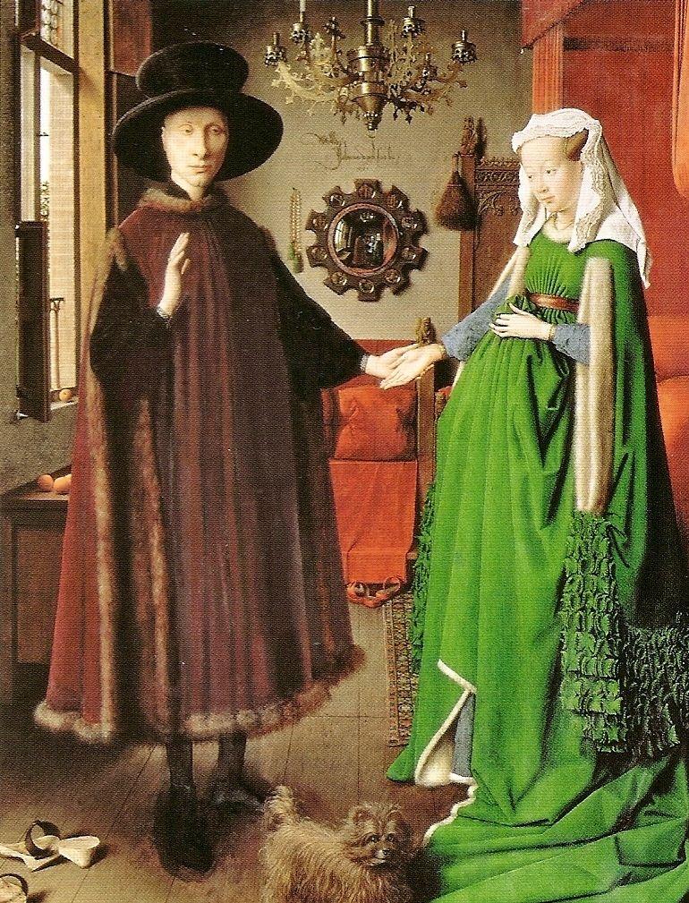 Jan Van Eyck (1390-1441, Belgium-Flemish) | i Coniugi Arnolfini