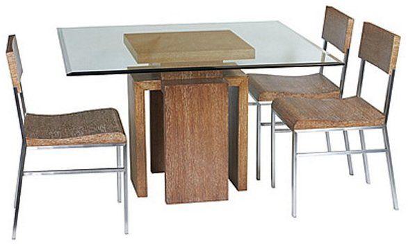 Allan Copley Designs Sebring 48 Square Glass Top Dining Table Square Dining Tables Glass Top Dining Table Dining Table Design 48 square dining table