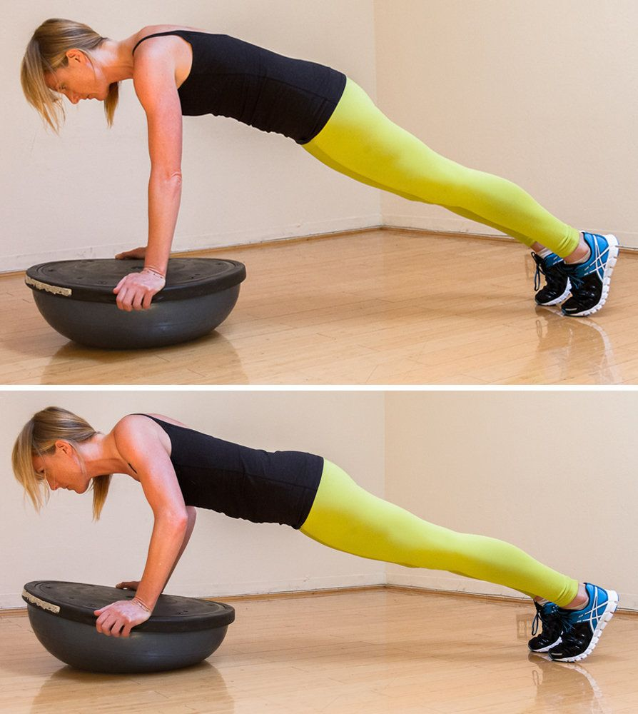 Bosu Ball Total Body Workout: Circuits, Workout