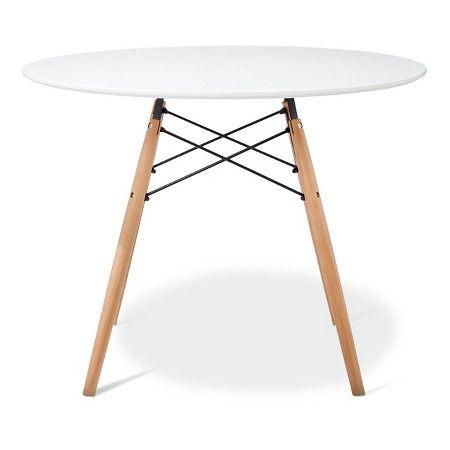 Beautiful Paris Round Dining Table   White : Target