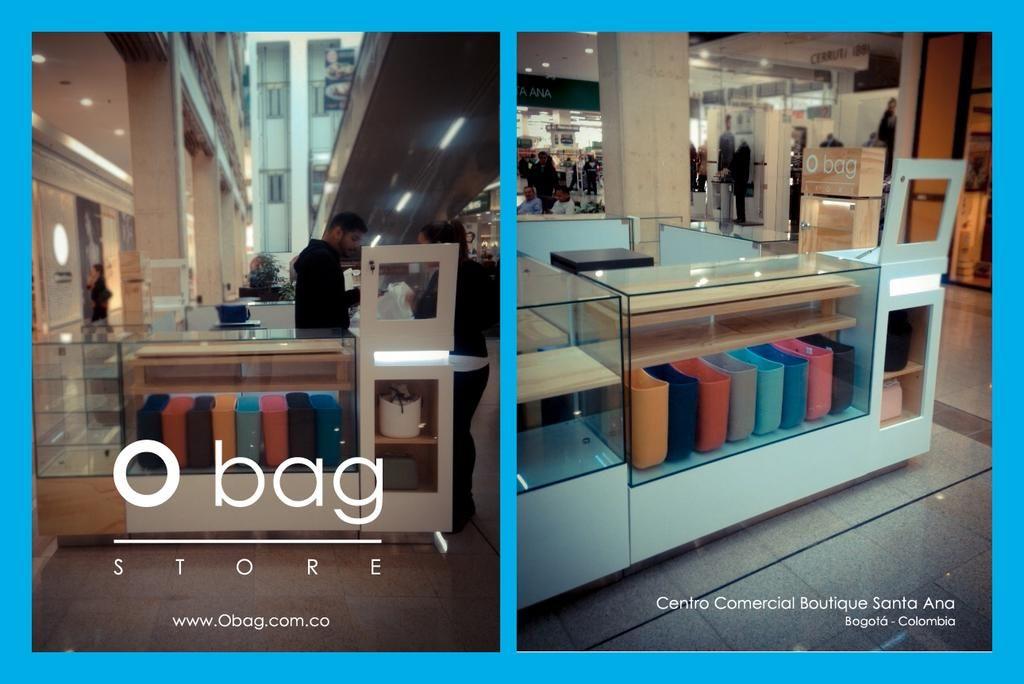 Te invitamos a que nos conozcas en el Centro Comercial Boutique Santa Ana  - Nivel 1  www.Obag.com.co