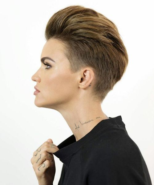 Super Awesome Ruby Rose Short Haircuts Youll Love To