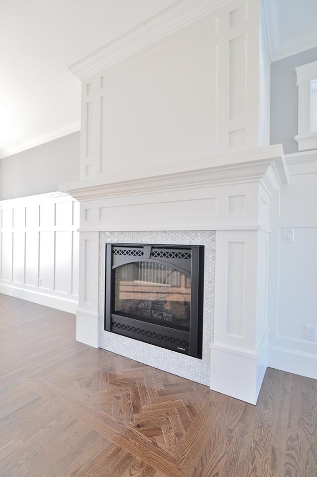 Fireplace Surround In 2019 Craftsman Fireplace Dining