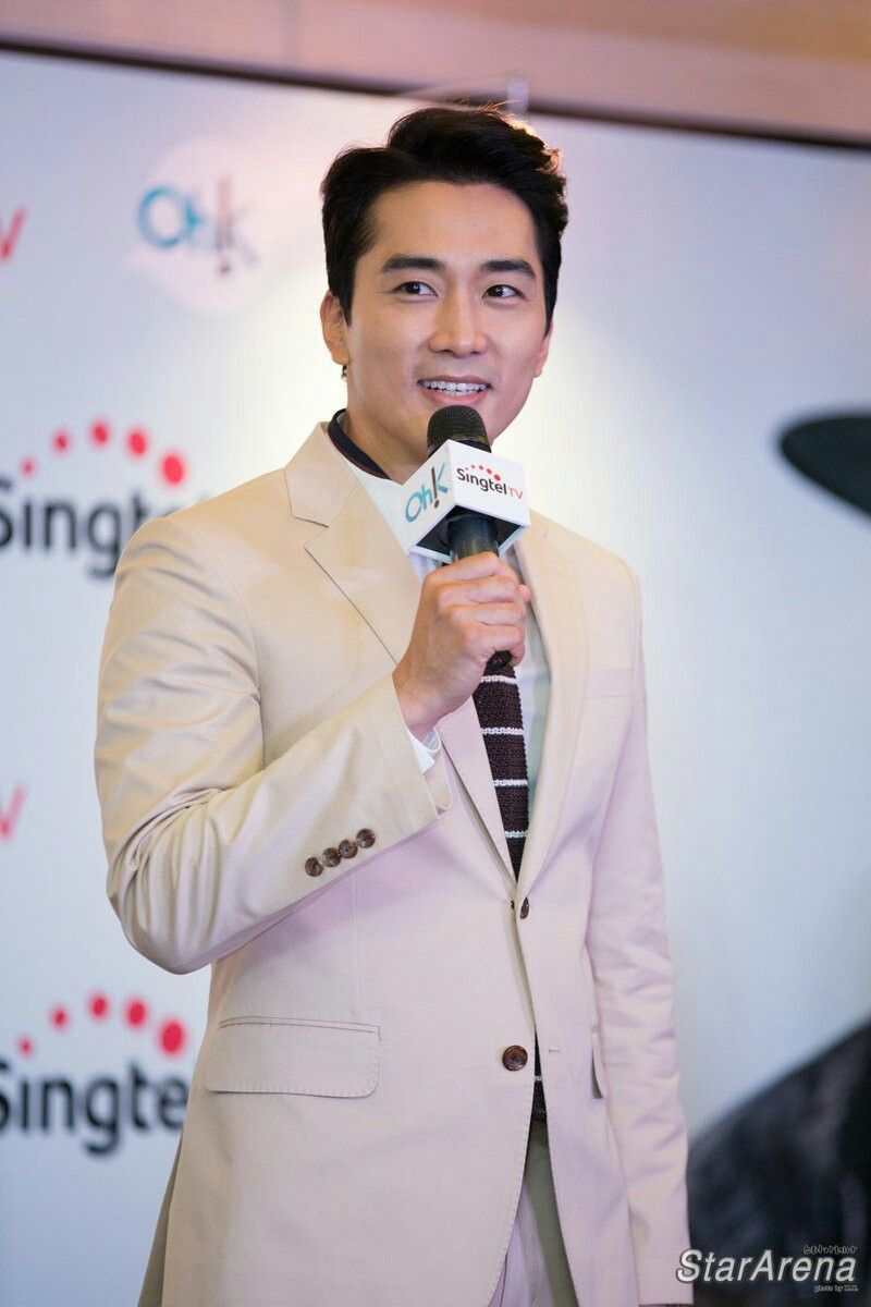 Meet And Greet In Singapore Presented By Singtel Tv Song Seungheon