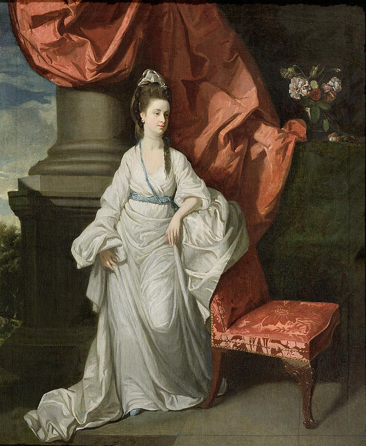 Lady Grant, Wife of Sir James Grant, Bt., 1770-80 by Zoffany, Johann (1733-1810)