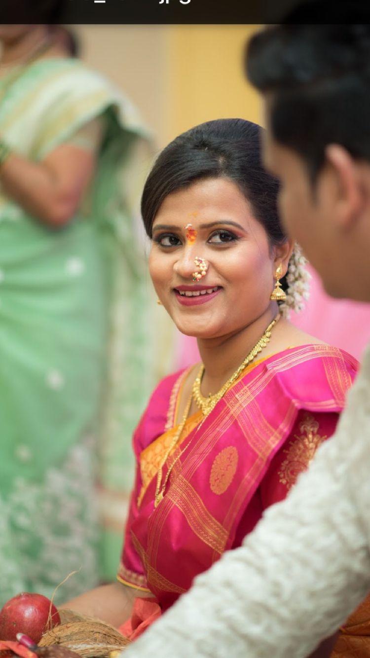 Marathi engagement look | Marathi bride in 2019 | Marathi