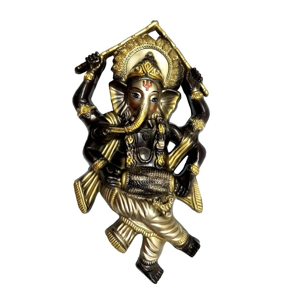 Dancing Ganesha Big Size Idol Mould | Wall Hanging Idol