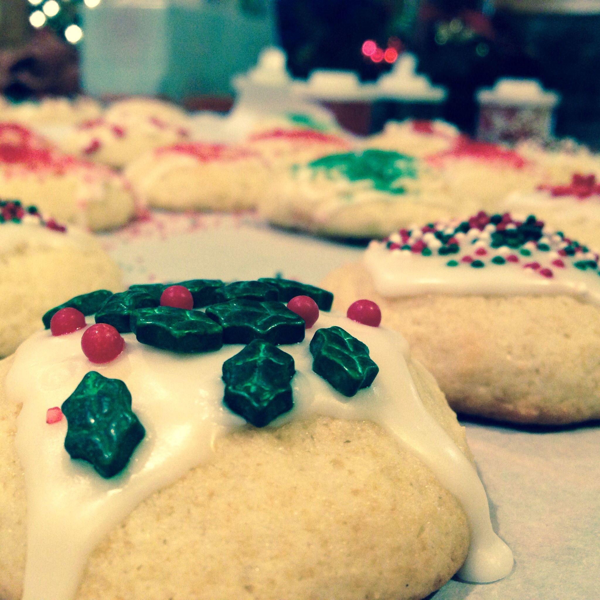 Ricotta cookies  http://www.cookingwithnonna.com/italian-cuisine/best-italian-ricottacheese-cookies.html