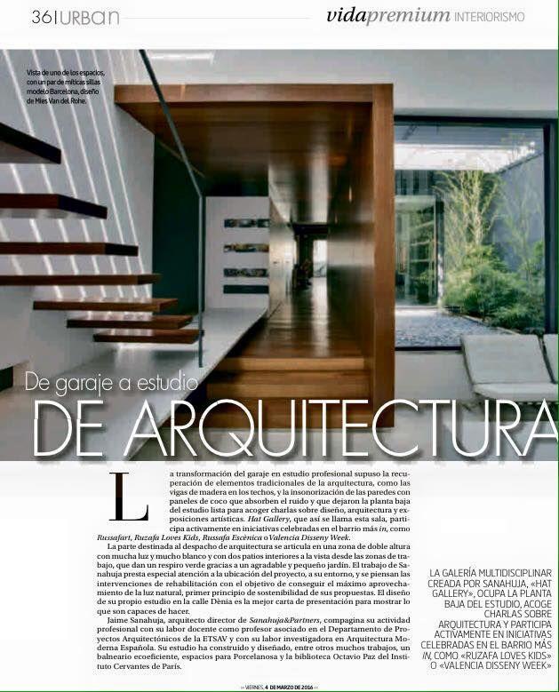De garaje a estudio de arquitectura nuestra sede en - Estudios arquitectura valencia ...