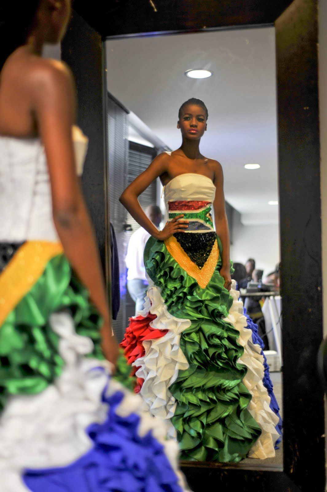 South africa africa dress flag sa flagged pinterest south