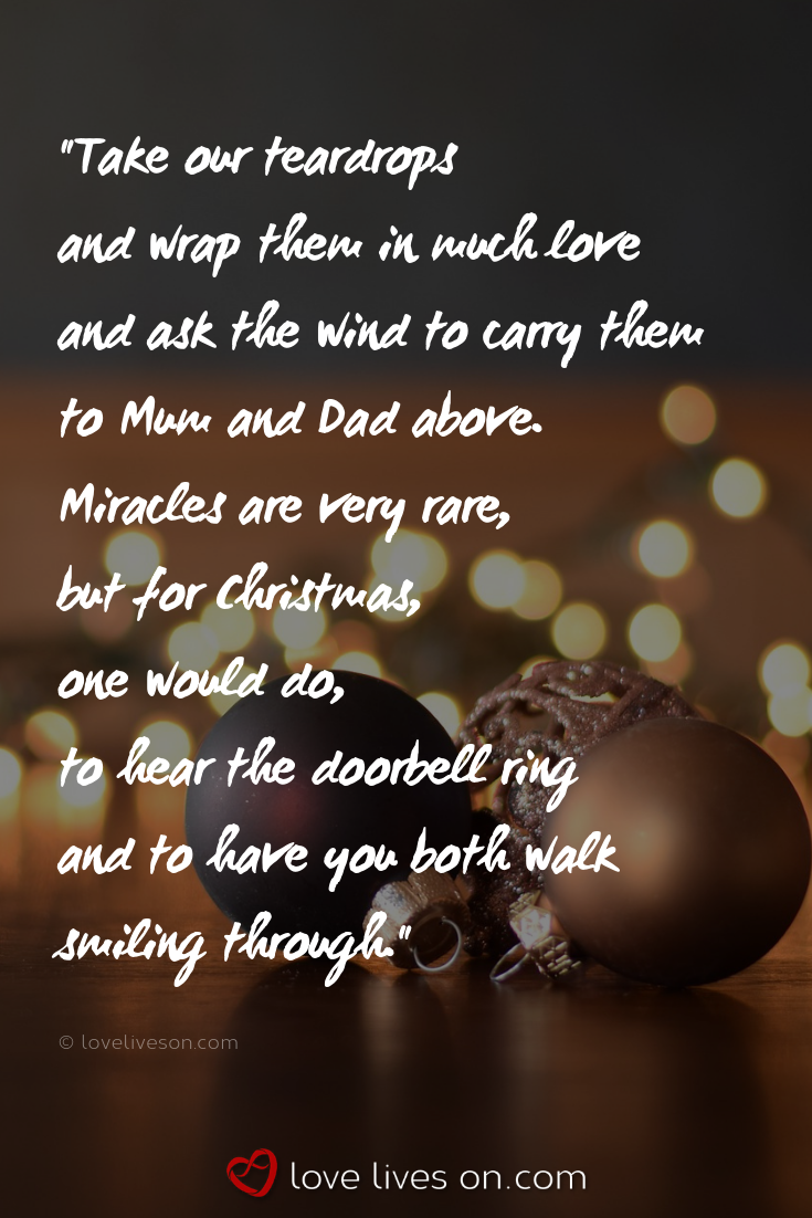 Christmas Quotes For Missing Loved Ones Click To Browse